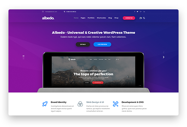 Albedo Creative Agency Demo